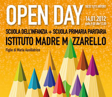 Istituto Madre Mazzarello Firenze – Poster Open Day
