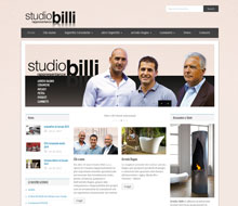 Studio Billi – Website